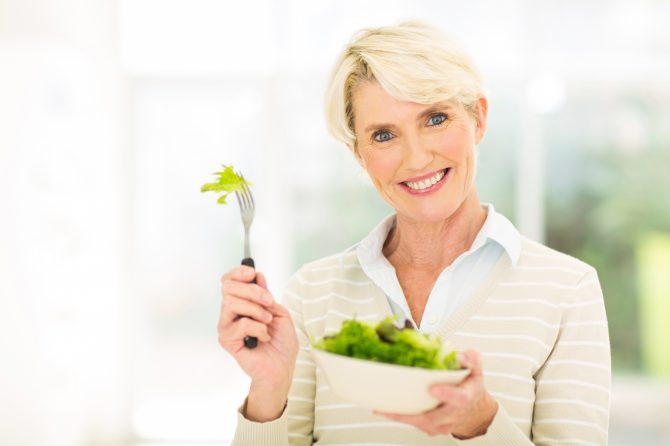 Diet from the age of 40: Ensuring wellbeing before, during and after menopause