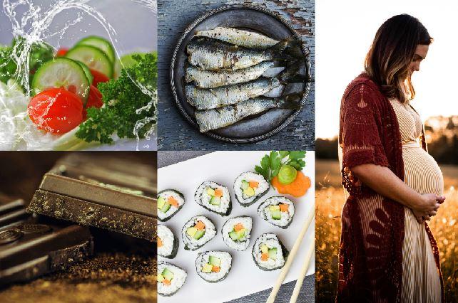 Alimentos y hábitos permitidos y desaconsejados durante el embarazo