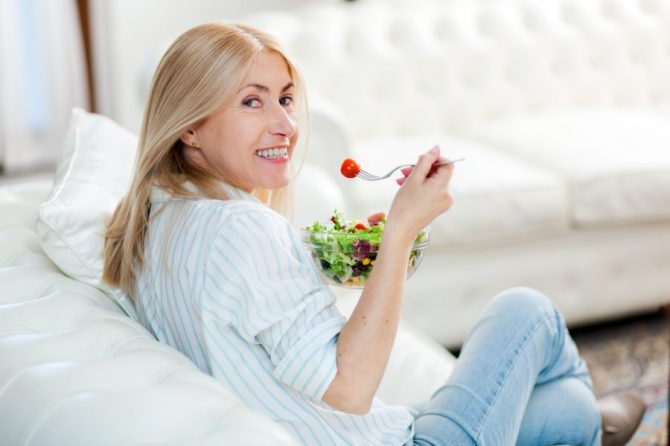 Menopausia y nutrición