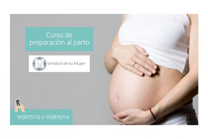 Curso de preparación al parto de la Unidad de la Mujer