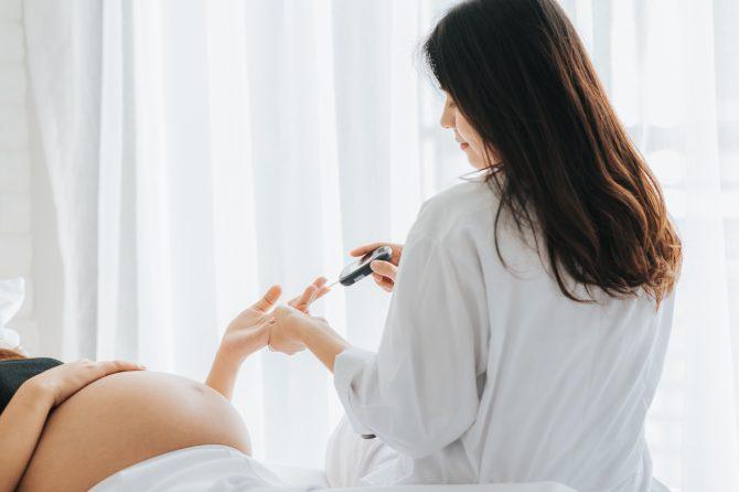 Diabetes gestacional o durante el embarazo